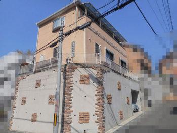 箕面市瀬川 T様邸 外壁塗装リフォーム事例
