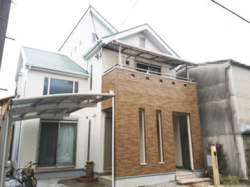 高槻市 M様邸 外壁・屋根・附帯塗装リフォーム事例