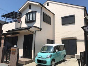 泉大津市 T様邸 外壁・屋根塗装事例
