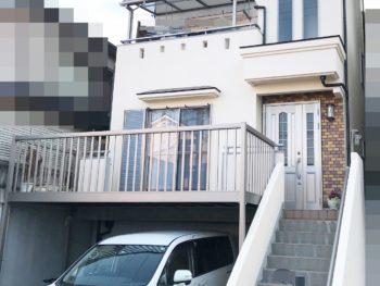 豊中市 前田様邸 外壁・屋根塗装事例