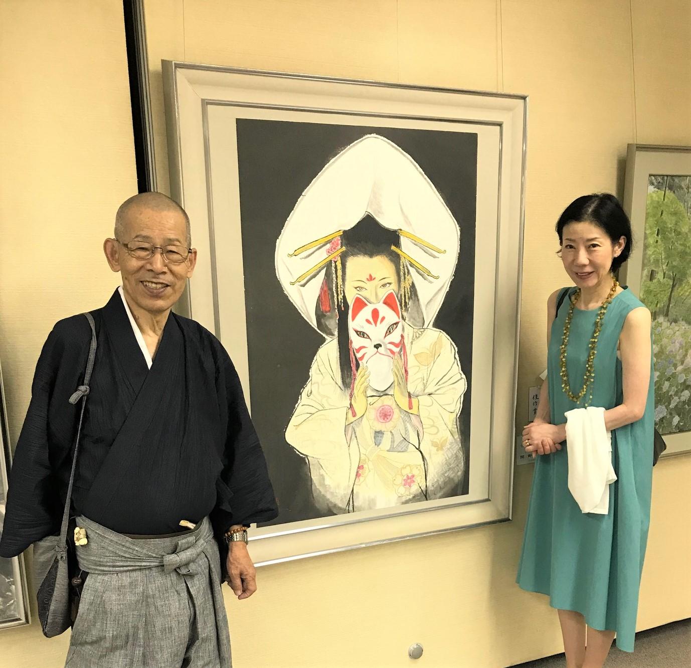 京都墨彩画壇展に入賞しました
