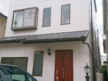 尼崎市 I様邸 フッ素塗料外壁屋根塗装リフォーム事例