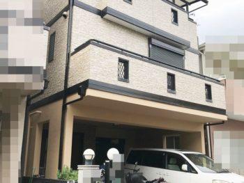 西宮市 H様邸 外壁・屋根塗装リフォーム事例