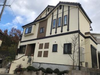 枚方市 M様邸 外壁塗装リフォーム事例