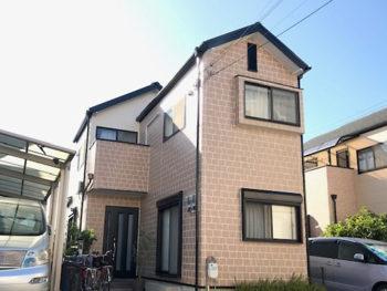 豊中市桜の町 N様邸 外壁・屋根塗装リフォーム事例