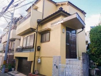 豊中市熊野町 H様邸 外壁塗装リフォーム事例