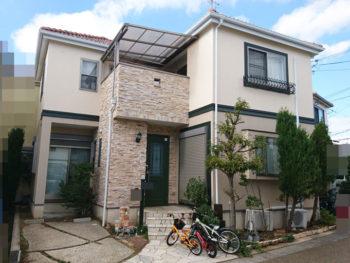 茨木市三島丘 T様邸 外壁塗装事例