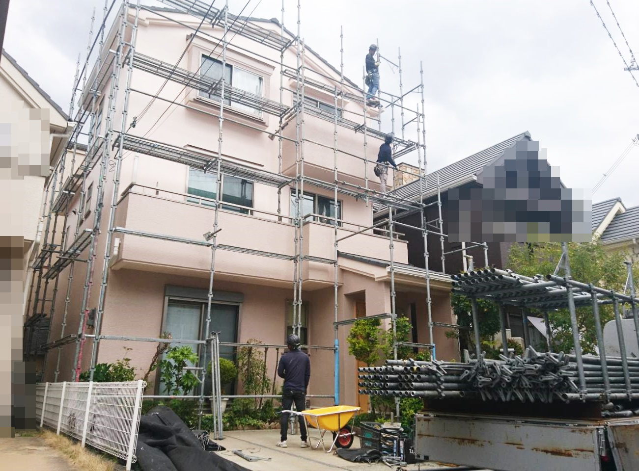 南甲子園 A様邸もうすぐ完工です!
