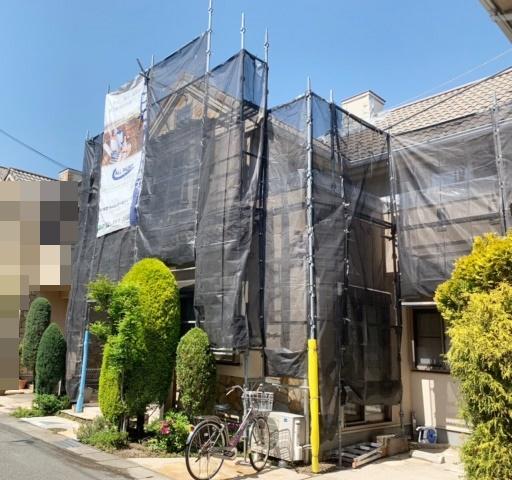 南甲子園Y様邸 もうすぐ完工です!